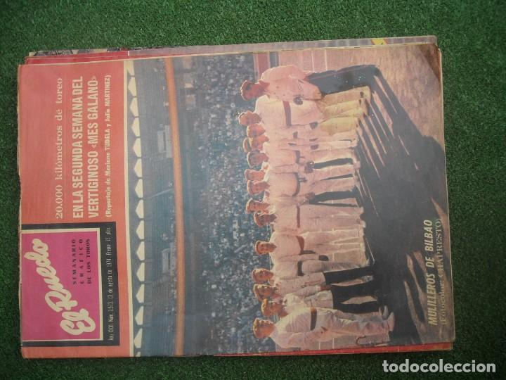 Tauromaquia: EL RUEDO SEMANARIO GRÁFICO DE LOS TOROS 73 EJEMPLARES AÑO 1962 1966 1967 1968 1970 1971 1972 1973 - Foto 137 - 167847784