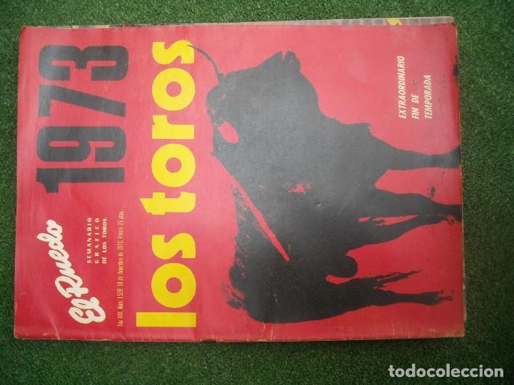 Tauromaquia: EL RUEDO SEMANARIO GRÁFICO DE LOS TOROS 73 EJEMPLARES AÑO 1962 1966 1967 1968 1970 1971 1972 1973 - Foto 139 - 167847784