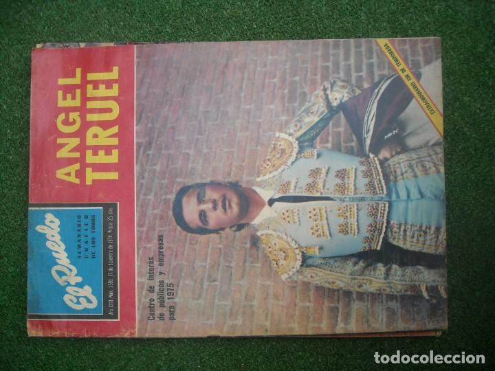 Tauromaquia: EL RUEDO SEMANARIO GRÁFICO DE LOS TOROS 73 EJEMPLARES AÑO 1962 1966 1967 1968 1970 1971 1972 1973 - Foto 141 - 167847784