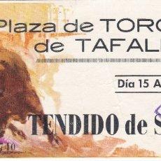 Tauromaquia: ENTRADA PLAZA DE TOROS DE TAFALLA. 15 AGOSTO. Lote 167911172