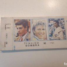 Tauromaquia: TALONARIO 100 ENTRADAS TOROS LITRI, CORDOBÉS Y PONCE 1995. Lote 168177244