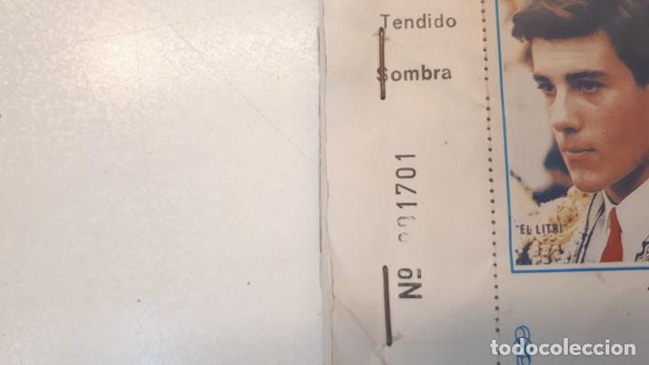 Tauromaquia: Talonario 100 entradas toros Litri, Cordobés y Ponce 1995 - Foto 3 - 168177244