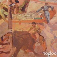 Tauromaquia: LOTE DE 7 POSTALES EDICIONES VICTORIA N. COLL SALIETI - PORTAL DEL COL·LECCIONISTA *****. Lote 168201000