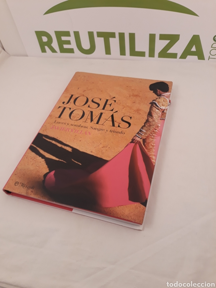 Tauromaquia: Jose Tomas.Luces,Sombras Sangre y triunfo.Javier Villan.Rizzoli. - Foto 8 - 168440448