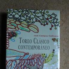 Tauromaquia: TOREO CLÁSICO CONTEMPORÁNEO. CAMPOS CAÑIZARES (JOSÉ) TAIWÁN, EDICIONES CATAY, 2018.. Lote 168559861