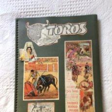 Tauromaquia: ALBUM DE CARTELES DE TOROS. Lote 168699808
