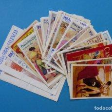 Tauromaquia: 29 ANTIGUOS PROGRAMAS DOBLES DE TOROS DE LOS AÑOS 1960-70-80-90, VER FOTOS ADICIONALES. Lote 168728068