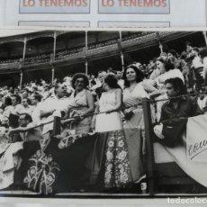 Tauromaquia: FOTOGRAFÍA DEL FOTÓGRAFO FRANCISCO CANO,CANITO,FOTÓGRAFO TAURINO FIRMADA 23X17CM . Lote 169861328
