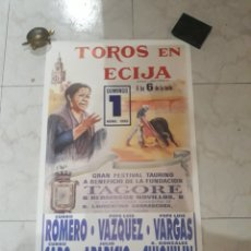Tauromaquia: CARTEL PLAZA DE TOROS ECIJA.1990.. Lote 169971897