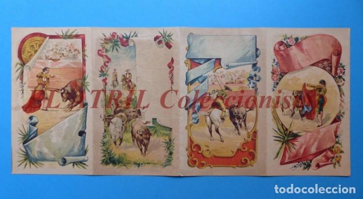 RARO PROGRAMA TOROS VALENCIA - MAZZANTINI, FUENTES, ALGABEÑO - FERIA DE JULIO DE 1899, VINOS FINOS (Coleccionismo - Tauromaquia)