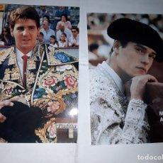 Tauromaquia: DOS FOTOS DE PADILLA Y MIGUEL ABELLAN. Lote 171065424