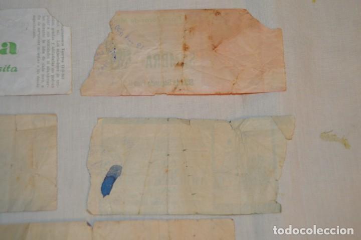 Tauromaquia: Lote de 23 entradas - Plaza toros Málaga - Antiguas año 1960/61/64/66 - Reverso publicidad Victoria - Foto 31 - 171454157