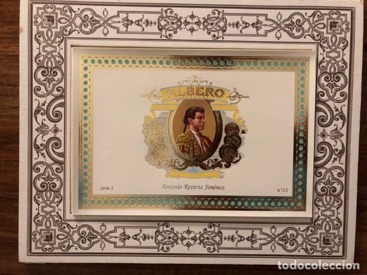 SERIE TOREROS FAMOSOS DEL S.XIX. TABACOS ALBERO. SERIE COMPLETA . OCASIÓN POR PRODUCTO Y PRECIO (Coleccionismo - Tauromaquia)