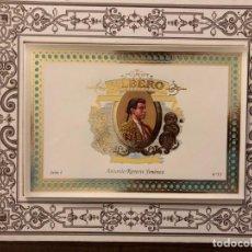 Tauromaquia: SERIE TOREROS FAMOSOS DEL S.XIX. TABACOS ALBERO. SERIE COMPLETA . OCASIÓN POR PRODUCTO Y PRECIO. Lote 171791722