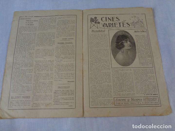 Tauromaquia: Revista de toros Oro y plata MARZO 1921 --- Numero 5 --- MANUEL GRANERO -- CHICUELO - SALERI - Foto 8 - 171977272