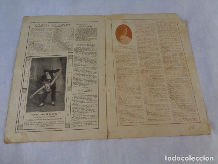 Tauromaquia: Revista de toros Oro y plata MARZO 1921 --- Numero 5 --- MANUEL GRANERO -- CHICUELO - SALERI - Foto 9 - 171977272