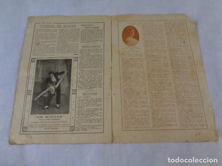 Tauromaquia: Revista de toros Oro y plata MARZO 1921 --- Numero 5 --- MANUEL GRANERO -- CHICUELO - SALERI - Foto 10 - 171977272