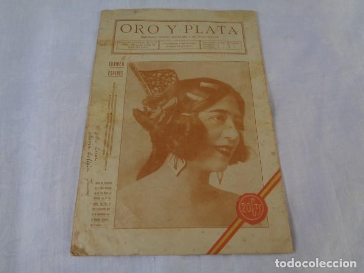 Tauromaquia: Revista de toros Oro y plata MARZO 1921 --- Numero 5 --- MANUEL GRANERO -- CHICUELO - SALERI - Foto 11 - 171977272