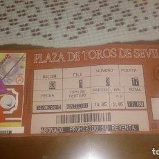 Tauromaquia: ENTRADA PLAZA DE TOROS DE SEVILLA (LA MAESTRANZA). 14 JUNIO 2015. Lote 172114702