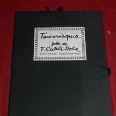 Tauromaquia: (M) TAUROMÁQUIA - FOTOS DE F CATALÀ-ROCA, MUSEU PICASSO, BARCELONA 1984/85. Lote 172678132