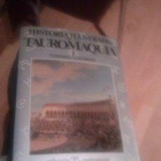 Tauromaquia: HISTORIA ILUSTRADA DE LA TAUROMAQUIA I. FERNANDO CLARAMUNT. ESPASA- CALPE. 1988. . Lote 172859843