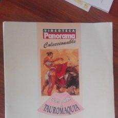 Tauromaquia: REVISTA PANORAMA -CIEN AÑOS DE TAUROMAQUIA- COLECCIONABLES Y POSTER JOSE TOMAS. Lote 172878364