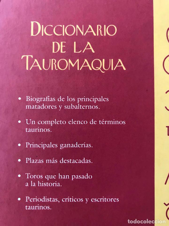 Tauromaquia: Diccionario de la Tauromaquia. Marceliano Ortiz Blasco - Foto 2 - 173533153