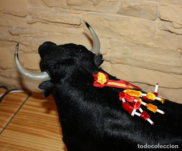 Tauromaquia: ANTIGUO TORO - FABRICADO EN ESPAÑA - AÑOS 60/70 - SOUVENIR - 42cm - NUEVO - IMPECABLE - GRAN TAMAÑO - Foto 7 - 173915130
