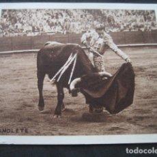 Tauromaquia: PROGRAMA TOROS FOTO MANOLETE. ZARAGOZA 1950. LUIS MIGUEL DOMINGUIN, JULIO APARICIO, PAQUITO MUÑOZ. 3. Lote 174479695