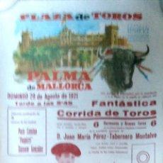 Tauromaquia: PLAZA DE TOROS PALMA DE MALLORCA. 1971. PACO CAMINO. PAQUIRRI. DAMASO GONZALEZ.. Lote 175299124