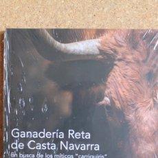 Tauromaquia: GANADERÍA RETA DE CASTA NAVARRA. EN BUSCA DE LOS MÍTICOS CARRIQUIRIS. PRÓLOGO DE ANTONIO PURROY.. Lote 235690795