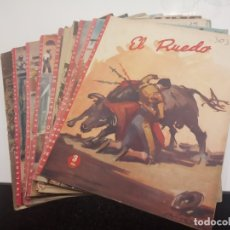 Tauromaquia: LOTE DE 13 REVISTAS EL RUEDO, ENTRE EL Nº 39 (MARZO 1945) Y EL Nº 641 (FEBRERO 1956). Lote 176369049