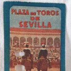 Tauromaquia: ENTRADA TOROS LA MAESTRANZA PLAZA DE SEVILLA 1956. Lote 177644987
