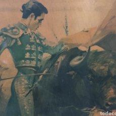 Tauromaquia: ANTIGUO CUADRO (FIRMADO POR BALLESTAR ). MÁS CUADROS ANTIGUOS EN MI PERFIL.. Lote 177739183