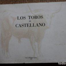Tauromaquia: LOS TOROS DE CASTELLANO, POR RAFAEL CABRERA BONET. TOMO II. DIBUJOS. CASTELLANO (MANUEL). Lote 178045584
