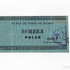 Tauromaquia: BILBAO.- PLAZA DE TOROS. ENTRADA AGOSTO 1902.. Lote 178212471