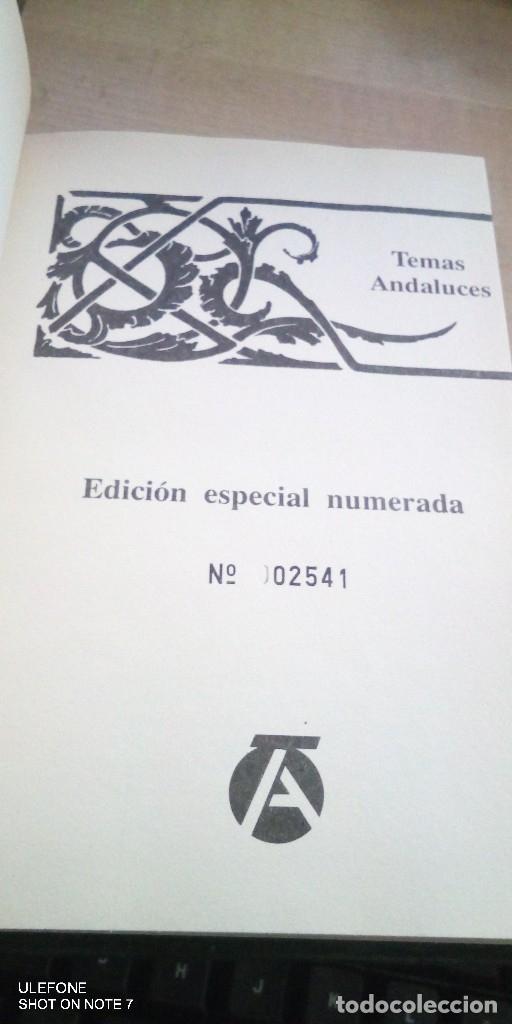 Tauromaquia: libro edicion numerada de tauromaquia fundamental de rafael rios mozo temas andaluces 1985 - Foto 2 - 178326983