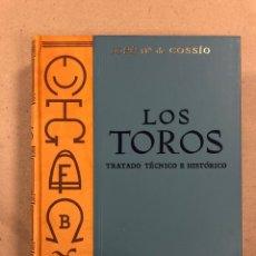 Tauromaquia: LOS TOROS (TRATADO TÉCNICO E HISTÓRICO). JOSÉ Mª DE COSSÍO. TOMO 7. ESPASA CALPE 1982. Lote 178623031