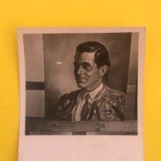 Tauromaquia: FOTO DEL TORERO MACHAQUITO RETRATADO AL OLEO POR ALFREDO ENGUIX PINTURA INEDITA DEL TORERO CORDOBES. Lote 178687278