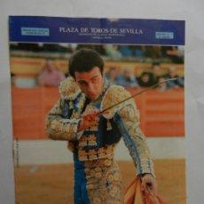 Tauromaquia: PROGRAMA OFICIAL 1997 - PLAZA DE TOROS DE SEVILLA - ENRIQUE PONCE.. Lote 178714112