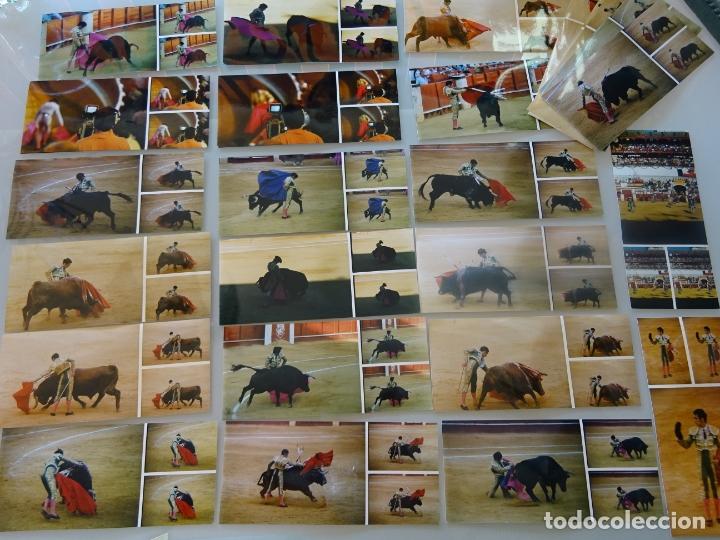 Tauromaquia: LOTE MÁS DE 300 FOTOGRAFÍAS CORRIDAS TOROS MÁLAGA SEVILLA. TOREROS. CURRO ROMERO, JESULÍN, 1,58 KG - Foto 6 - 178864002