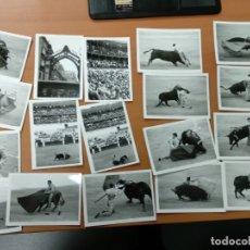 Tauromaquia: LOTE DE FOTOS DE CORRIDA DE TOROS EN MÁLAGA, RIVERA ORDÓÑEZ, CURRO ROMERO, AÑOS 90, + 30 FOTOS Y NEG. Lote 178915426