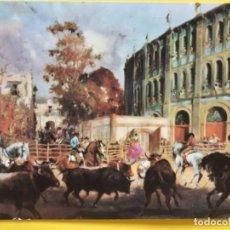 Tauromaquia: MADRID FERIA DE SAN ISIDRO 1969 CORRIDAS TOROS PLAZA DE LAS VENTAS OSBORNE PUBLICIDAD VETERANO DUCAL. Lote 179094632