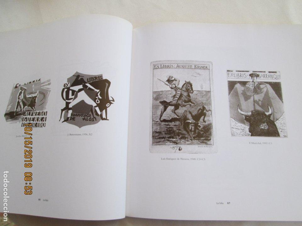 Tauromaquia: EL TORO EN LOS EXLIBRIS , EXLIBRIS TAURINOS , JOSE MIGUEL VALDERRAMA -Junta de Andalucía, 2004 1ª ED - Foto 4 - 179338041