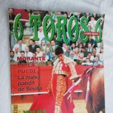 Tauromaquia: 6 TOROS 6 - REVISTA TAURINA Nº 252 ABRIL DE 1999 - MORANTE DE LA PUEBLA. MIURA.... Lote 179552673