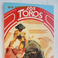 Tauromaquia: LOS TOROS - PEREA EDICIONES ILUSTRATIVAS 1989. . Lote 180026930