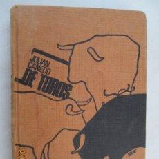Tauromaquia: DE TOROS , JUAN CAÑEDO 1955, EDITORIAL ARAMO . Lote 180194716