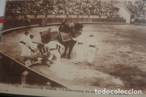 CORRIDA DE TOROS L'ARRASTRE Nº25 - PORTAL DEL COL·LECCIONISTA ***** (Coleccionismo - Tauromaquia)
