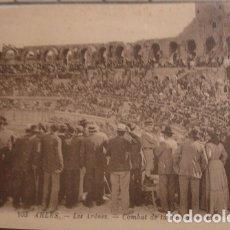 Tauromaquia: ARLES LES ARENES 103 COMBAT DE TAUREAUX - PORTAL DEL COL·LECCIONISTA *****. Lote 180474226