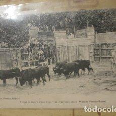 Tauromaquia: TRIAGE ET DEPART D'UNE COURSE DE TAUREAUX - PORTAL DEL COL·LECCIONISTA *****. Lote 180474393